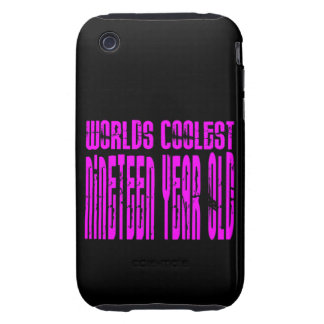 Girls 19th Birthdays Pink Worlds Coolest Nineteen iPhone 3 Tough Case