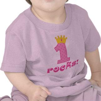 Girls 1st Birthday T-shirt