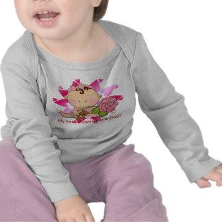 Girl's 1st Valentine's Day Infant Long Sleeve T-Sh Tshirt