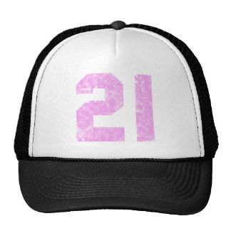 Girls 21st Birthday Gifts Mesh Hats