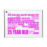 Girls 25th Birthdays Pink Greatest Twenty Five Cover For iPad Mini