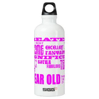 Girls 25th Birthdays Pink Greatest Twenty Five Water Bottle