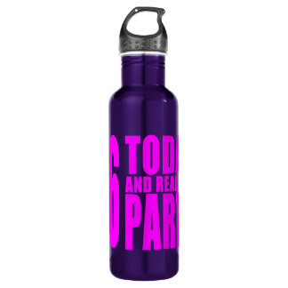 Girls 26th Birthdays : 26 Today and Ready to Party 24oz Water Bottle