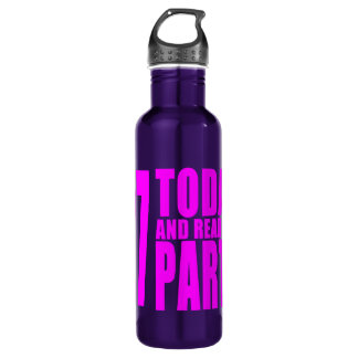 Girls 27th Birthdays : 27 Today and Ready to Party 24oz Water Bottle