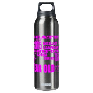 Girls 27th Birthdays Pink Greatest Twenty Seven 16 Oz Insulated SIGG Thermos Water Bottle