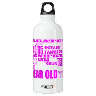 Girls 27th Birthdays Pink Greatest Twenty Seven SIGG Traveler 0.6L Water Bottle