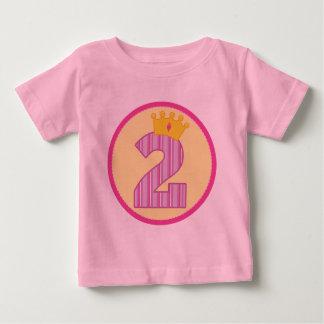 Girls 2nd Birthday T Shirt