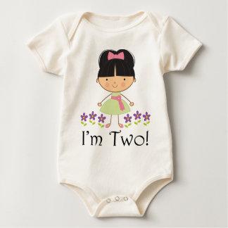 Girls 2nd Birthday Baby Bodysuits