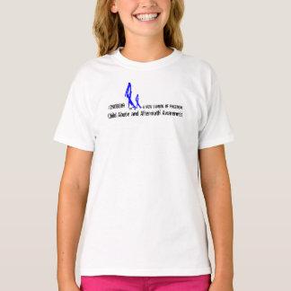 Girl's 2NOBBIR SymbolofFreedom Basic Hanes Tagless T-Shirt