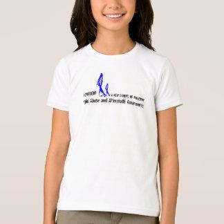Girl's 2NOBBIR SymbolofFreedom BasicAmericnApparel T-Shirt