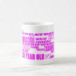 Girls 33rd Birthdays Pink Greatest Thirty Three Mugs