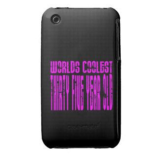 Girls 35 Birthdays Pink Worlds Coolest Thirty Five iPhone 3 Cases