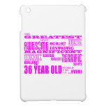 Girls 36th Birthdays Pink Greatest Thirty Six Cover For The iPad Mini