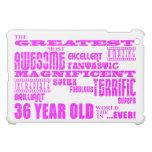 Girls 36th Birthdays Pink Greatest Thirty Six iPad Mini Cases