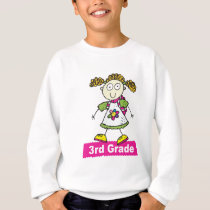 Girls 3rd Grade Sweatshirt