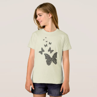 Girls abstract butterfly T-Shirt