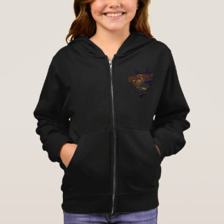 Girls' American Apparel California Fleece Zip Hood Hoodie