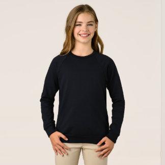 Girls' American Apparel Raglan Sweatshirt