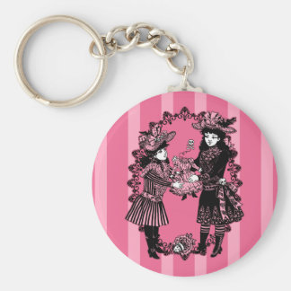 Girls and Beheaded Doll Keychain