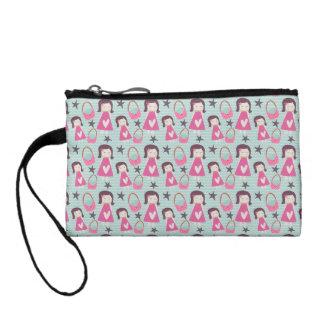 Girls and Handbags Coin Purse
