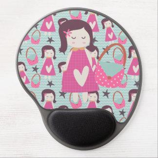 Girls and Handbags Gel Mouse Pad