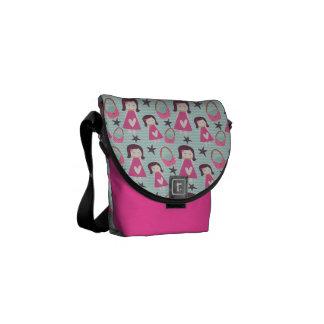 Girls and Handbags Messenger Bag