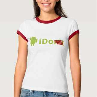 Girl's Android 'I Do' Ringed Tee