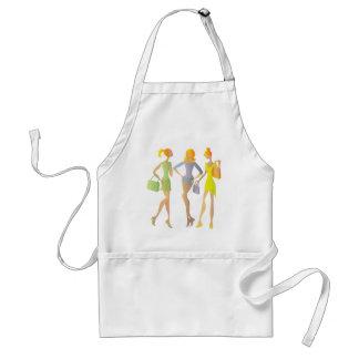 girls adult apron