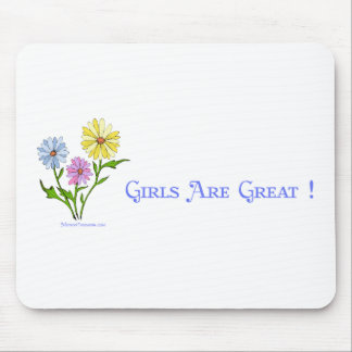 Girls Are Great Mouse Pad