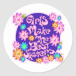 Girls are the Best Skaters! Sticker