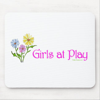 Girls at Play Mouse Pad