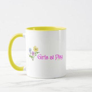 Girls at Play Mug