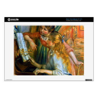 Girls at the Piano by Pierre Renoir Acer Chromebook Skins