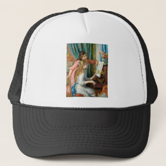 Girls at the Piano Trucker Hat