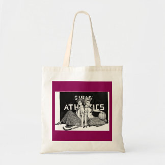 Girls' Athletics - 1913 yearbook illustration Tote Bag
