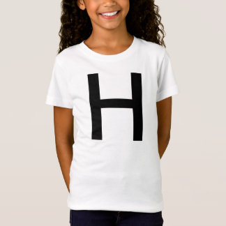 Girls Baby Doll Fitted T-Shirt