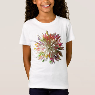 Girl's Baby Doll Tee (Fitted) - Painted Spider Mum