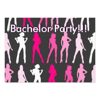 GIRLS Bachelor Party Bachelor Party Personalized Invitation