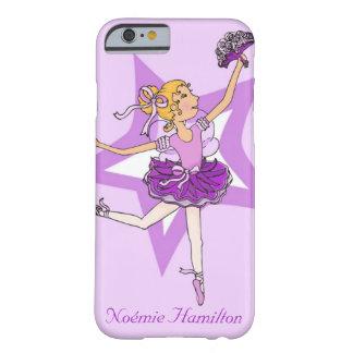 Girls ballerina blonde hair iphone barely case