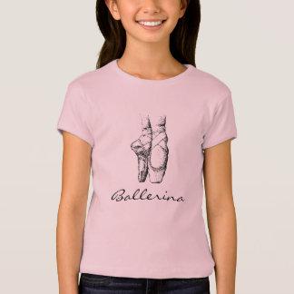 Girls Ballerina Toes T-Shirt