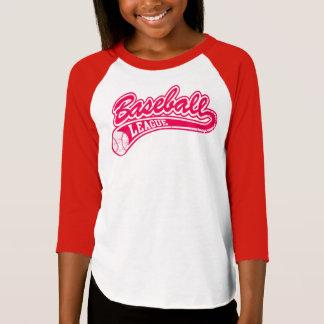 Girl's baseball league T-Shirt