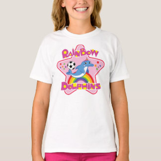 Girls' Basic Hanes Tagless T-Shirts (Youth XS-XL)