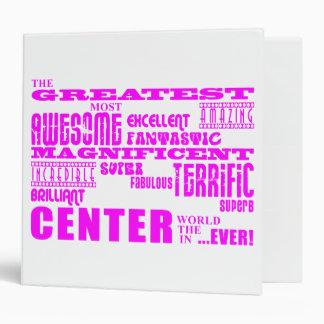 Girls Basketball Centers : Pink Greatest Center Binder