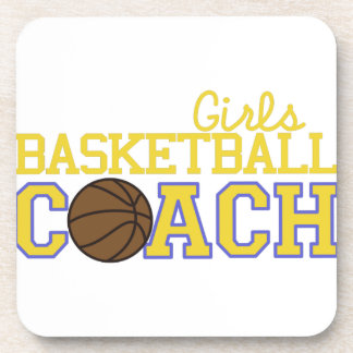 Girls Basketball Coach Coaster
