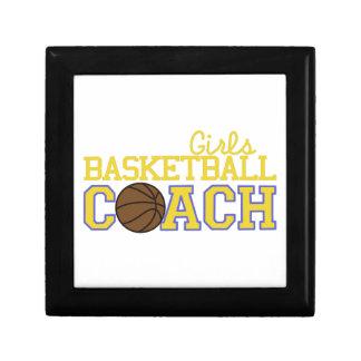 Girls Basketball Coach Gift Box
