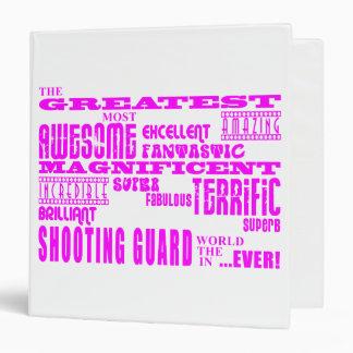 Girls Basketball Players  Greatest Shooting Guard Vinyl Binder
