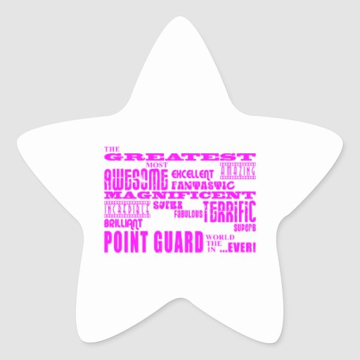 Girls Basketball Point Guards Greatest Point Guard Stickers