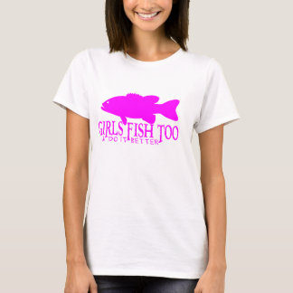 Girls Bass Fishing Ladies Spaghetti Top