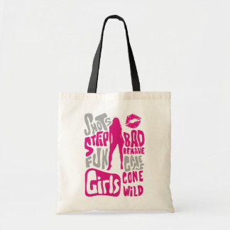 Girls Behaving Badly Tote Bag