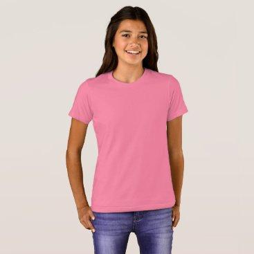 Beach Themed Girls' Bella Canvas Crew T-Shirt